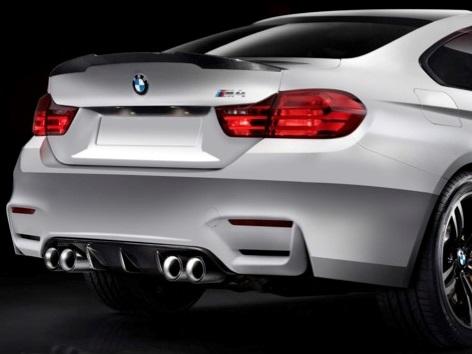 Genuine Bmw 51 19 2 350 722 F82 M4 M Performance Carbon Fiber Rear