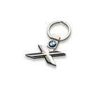 X-Edition Key Ring, Silver
