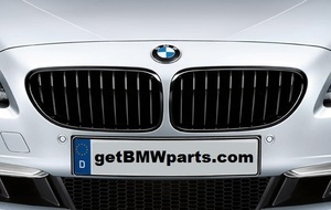 E92/E93 3 Series Coupe/Convertible M Performance Black Kidney Grille, Left - up to 3/2010 + all M3's - BMW (51-71-2-155-451)