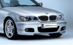E46 3 Series Mtech II Front Aerodynamic Retrofit Kit