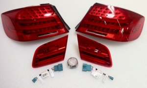 E92/93 LCI Coupe & Convertible LED Tail Light Retrofit Kit - BMW (PKE92LCITAILS)