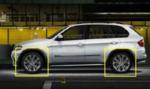 """X5, X6 BMW Performance 21"""" Style 375 Front Rim - 10x21 ET:40"""