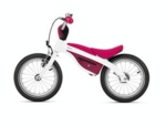 BMW Kids Bike - White/Berry