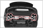 991 911 Sports Exhaust System - 3.4 L