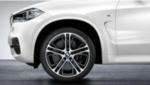 "F15 X5, F16 X6 M Performance 21"" Style  310M Wheel/Tire Set"