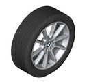 "F10 5 Series F12/13/06 6 Series 18"" Style 281 Winter Wheel/Tire Assembly - up to 3/2016"