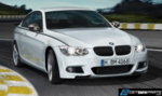 E92/93 LCI BMW Performance Carbon Fiber Front Lip Spoiler - M Sport Bumper