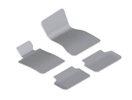 G30 5 Series Carpet/Velour Floor Mats - BMW (51-47-7-489-623)