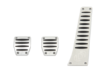 Dinan Aluminum Pedal Cover Set for BMW with Manual Transmission