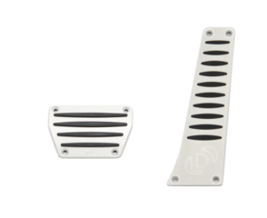 Dinan Aluminum Pedal Cover Set for BMW with Automatic Transmission/DCT - DINAN (D700-0001)
