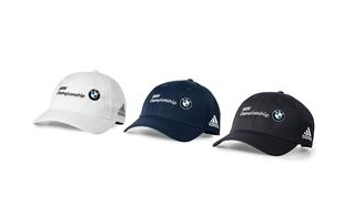 BMW Men's Adidas® Performance Max Cap - White - BMW (80-90-2-349-478)