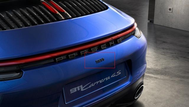 992 911 (2019+) 911 Badge - Gloss Black - Porsche (992-044-820-00-041)