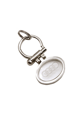 Etched Glass Keychain - Audi (ACM-890-5)