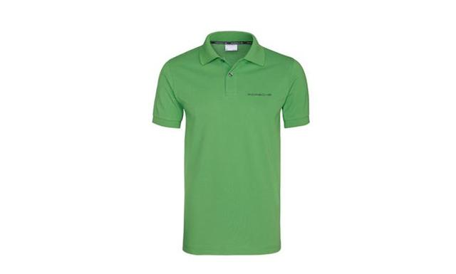 Men's Green - Polo Shirt - Porsche (WAP-909-00S-0C)