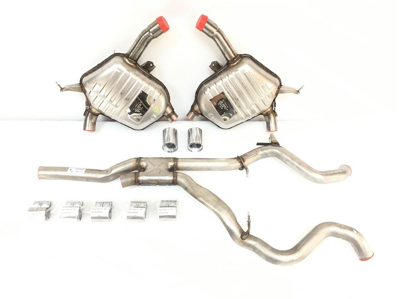 E90 335i/xi Sedan M Performance Exhaust - N54 Engine - BMW (18-10-2-410-683)