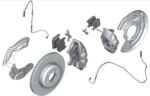 F2x 2 Series, F3x 3 & 4 Series M Performance Brake Kit - Red - BMW (34-11-2-450-468)