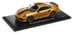 Porsche Model Car - 911 Turbo S Exclusive, Golden Yellow, 1:18