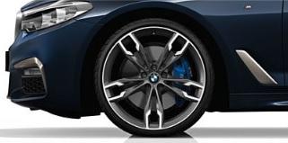 BMW Rims Style >> G30 5 Series M Double Spoke 20 Style 668m Rims