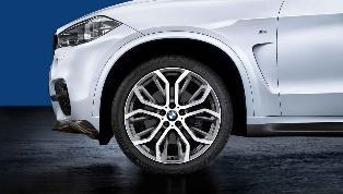 "F15 X5, F16 X6 M Performance 21"" Style 375 Wheel/Tire Set"