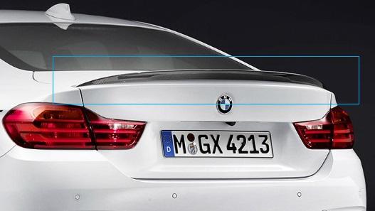 F36 4 Series Gran Coupe M Performance Carbon Fiber Spoiler - BMW (51-62-2-407-543)