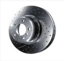 E46 3 Series M Performance Ventilated Rotor - Rear