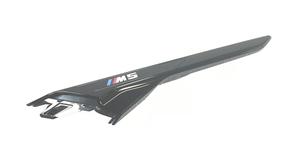 F90 M5 M Performance Gloss Black Side Grill Molding - Left - BMW (51-13-8-076-047)
