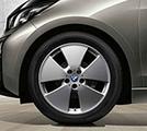 "I03 i3 19"" Style 427 Silver Winter Wheel/Tire - 5x19"