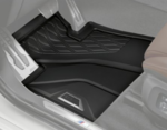 G05 X5 All Weather Rubber Floor Mats Set - Front