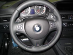 E9x M3 Tri-Stitched Steering Wheel