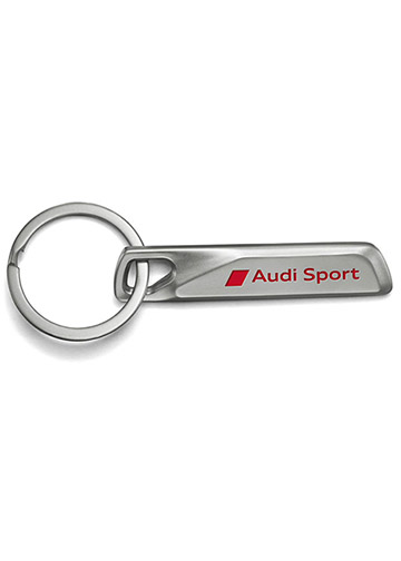 Audi Sport Stainless Steel Key Ring - Audi (ACM-898-7)