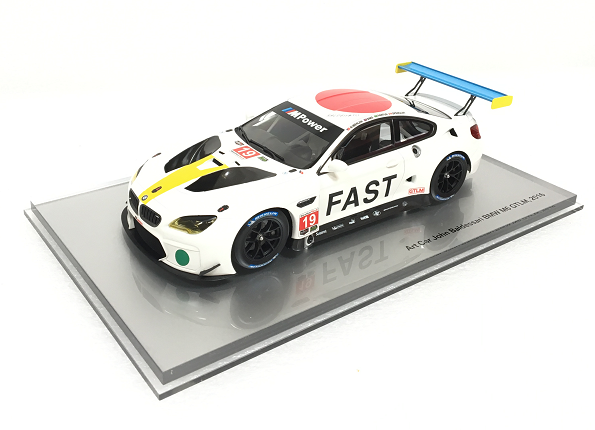 M6 GTLM Art Car, John Baldessari - 1:18 Scale Miniature - BMW (80-43-2-447-953)