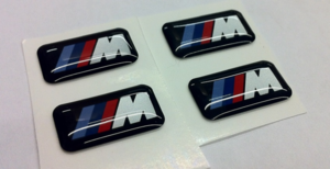 M Wheel Badge/Emblem - BMW (36-11-2-228-660)