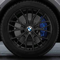 "F34 3 Series GT M Performance 18"" Style 405M Black Winter Wheel/Tire - 8x18 - BMW (36-11-2-289-758)"