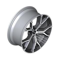 """21"""" Style 741M Y-Spoke Light Alloy Wheel, Orbit Grey - 10.5Jx21 ET:43 - BMW (36-11-8-071-999)"""