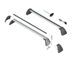 F39 X2 Base Support System - Roof Rack Kit
