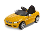 BMW Z4 Ride-On Electric Car - Yellow