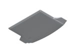 F12/13/06 6 Series Fitted Luggage Compartment Mat