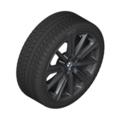 "G05 X5 M Performance 20"" Style 748M Black Winter Wheel/Tire - 9x20"
