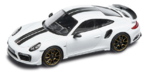 Porsche Model Car - 911 Turbo S Exclusive, Carrara White, 1:43