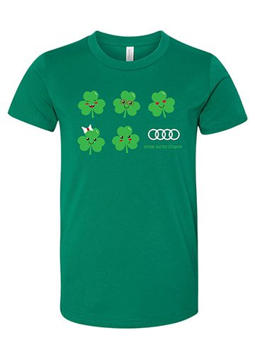 Always Lucky T-Shirt - Youth - Audi (ACM-307-2)