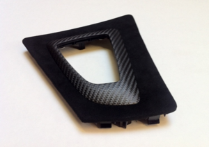 F3x 3 & 4 Series M Performance Carbon Fiber Gear Selector Switch Trim - BMW (51-16-2-343-741)
