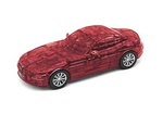 BMW Z4 Puzzle Car - Transparent