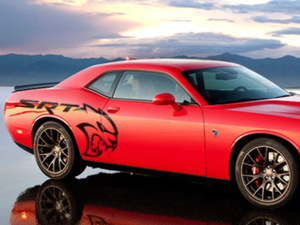 SRT Hellcat Challenger Body side Graphic