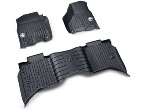 Ram 1500 All Weather Mats Bucket Style Quad Cab