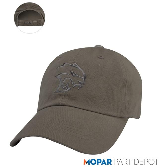 SRT Cotton Twill Hellcat Cap - Mopar (126VP)