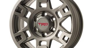 """TRD 17"""" Alloy Wheel - Matte Gray"""