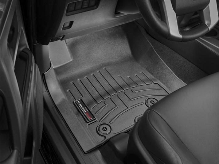 2012 - 2014 Toyota Camry Black Front FloorLiner - Custom (444001)