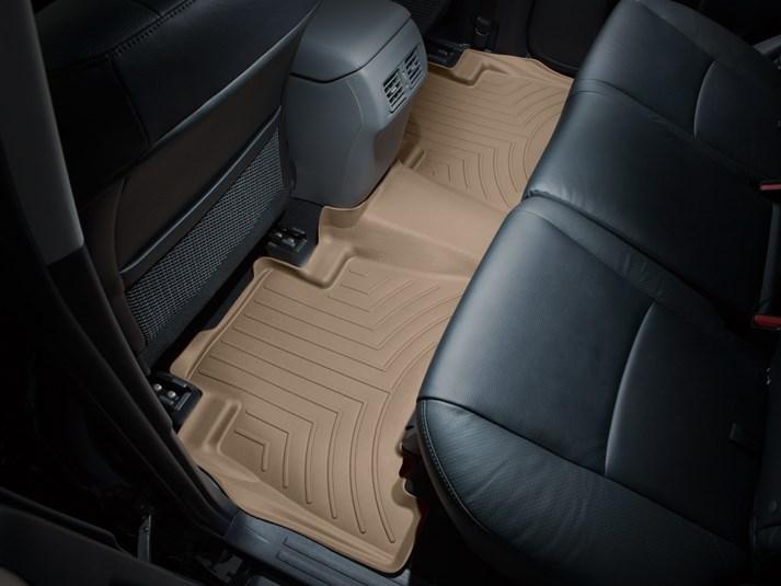 2012 - 2015 Toyota Camry Tan Rear FloorLiner - Custom (454002)