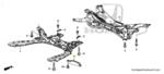 Brace, Front Sub-Frame - Honda (50290-TGN-E00)