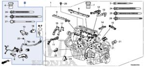 Sub-Wire, Starter - Honda (32111-R5A-A00)
